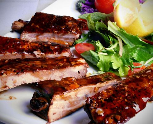 guest ranch vacations, guest ranch food, ranch food, ranch ribs