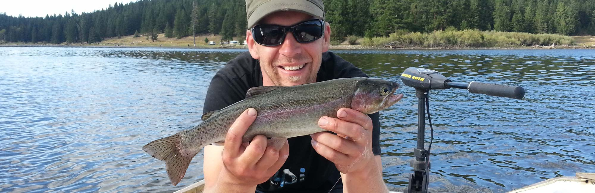 Rainbow Trout on the Lake