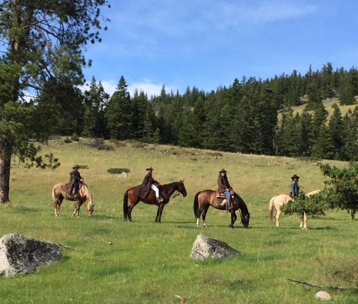 Cariboo Trail ride
