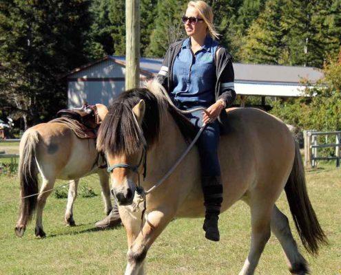 Natural Horsemanship bareback ride