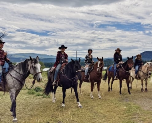 wranglers at Campbell Hills Guest Ranch